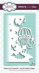 Creative Expressions - Die - Paper Cuts Hot Air Balloon Edger