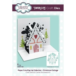 Creative Expressions - Die - Paper Cuts Christmas Cottage Pop Up