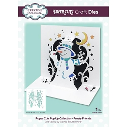 Creative Expressions - Die - Paper Cuts Frosty Friends Pop Up