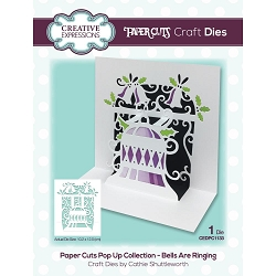 Creative Expressions - Die - Paper Cuts Bells Are Ringing Pop Up