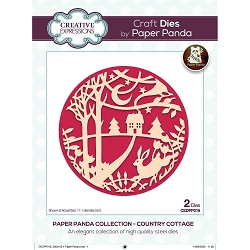 Creative Expressions - Die - Paper Panda Country Cottage Die