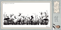 Creative Expressions - Cling Stamp - Sentimentally Yours Magical Meadow by Phill Martin