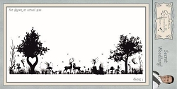 Creative Expressions - Cling Stamp - Sentimentally Yours Secret Woodland by Phill Martin