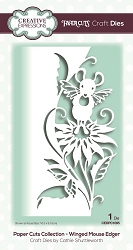 Creative Expressions - Die - Paper Cuts Collection Winged Mouse Edger
