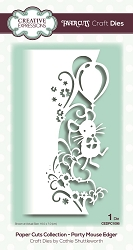Creative Expressions - Die - Paper Cuts Collection Party Mouse Edger