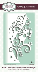 Creative Expressions - Die - Paper Cuts Collection Celebration Mouse Edger