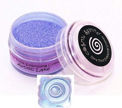 Creative Expressions - Cosmic Shimmer Embossing Crystals - Ultra Thick Arctic Lake