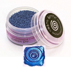 Creative Expressions - Cosmic Shimmer Embossing Crystals - Ultra Thick Cobalt Sky