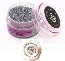 Creative Expressions - Cosmic Shimmer Embossing Crystals - Ultra Thick Silver Shine