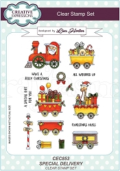 Creative Expressions - Clear Stamp - Special Delivery by Lisa Horton