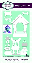 Creative Expressions - Die - Paper Cuts Collection The Dog House