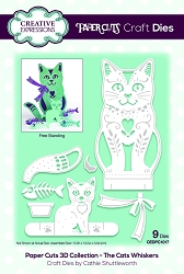 Creative Expressions - Die - Paper Cuts Collection The Cats Whiskers