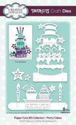 Creative Expressions - Die - Paper Cuts Collection Party Cakes
