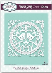Creative Expressions - Die - Paper Cuts Collection Turtle Doves