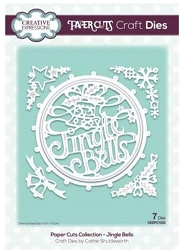 Creative Expressions - Die - Paper Cuts Collection Jingle Bells