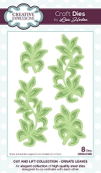 Creative Expressions - Die - Cut and Lift Collection by Lisa Horton - Ornate Leaves