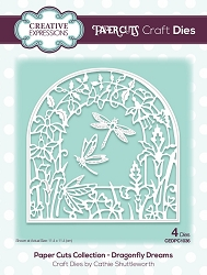Creative Expressions - Die - Paper Cuts Collection Dragonfly Dreams