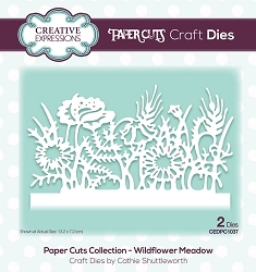 Creative Expressions - Die - Paper Cuts Collection Wilflower Meadow