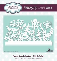 Creative Expressions - Die - Paper Cuts Collection Thistle Patch