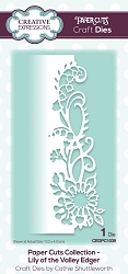 Creative Expressions - Die - Paper Cuts Collection Lily of the Valley Edger