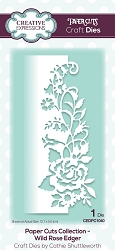 Creative Expressions - Die - Paper Cuts Collection Wild Rose Edger