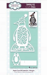 Creative Expressions - Die - Paper Cuts Collection 3D Penguin