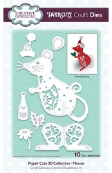 Creative Expressions - Die - Paper Cuts Collection 3D Mouse
