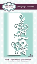 Creative Expressions - Die - Paper Cuts Collection Hollyhock Edger