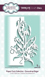 Creative Expressions - Die - Paper Cuts Collection Snowdrop Edger