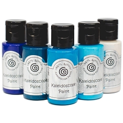 Cosmic Shimmer Kaleidoscope Paint Kit - Marine - by Creative Expressions