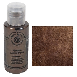 Cosmic Shimmer Metallic Lustre Paint - Chocolate Gold - by Creative Expressions