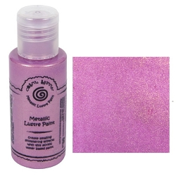 Cosmic Shimmer Metallic Lustre Paint - Pink Diamonds - by Creative Expressions