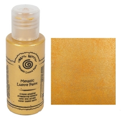 Cosmic Shimmer Metallic Lustre Paint - Marigold - by Creative Expressions