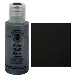 Cosmic Shimmer Matte Chalk Paint - Midnight - by Creative Expressions