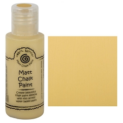 Cosmic Shimmer Matte Chalk Paint - Saffron - by Creative Expressions