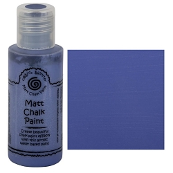Cosmic Shimmer Matte Chalk Paint - Iris Blue - by Creative Expressions