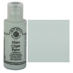 Cosmic Shimmer Matte Chalk Paint - Azure Mist - by Creative Expressions