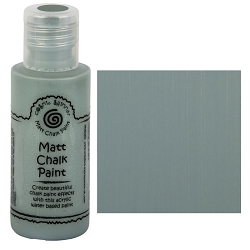 Cosmic Shimmer Matte Chalk Paint - Saxe Blue - by Creative Expressions