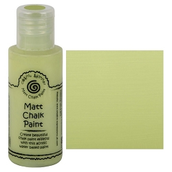 Cosmic Shimmer Matte Chalk Paint - Citron - by Creative Expressions