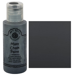 Cosmic Shimmer Matte Chalk Paint - Chalkboard - by Creative Expressions
