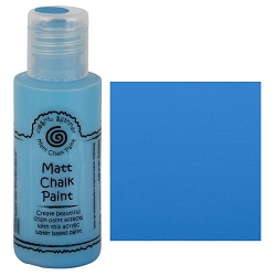 Cosmic Shimmer Matte Chalk Paint - Prussian Blue - by Creative Expressions