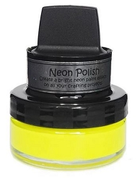 Creative Expressions - Cosmic Shimmer Happy Yellow Neon Polish