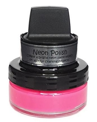 Creative Expressions - Cosmic Shimmer Shocking Pink Neon Polish