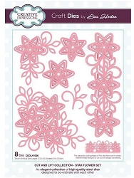 Creative Expressions - Die - Cut and Lift Collection Star Flower by Lisa Horton