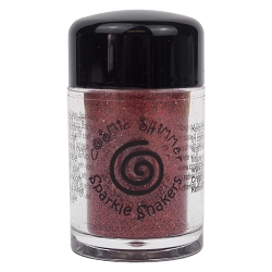 Creative Expressions - Cosmic Sparkle Shakers - Ruby Red