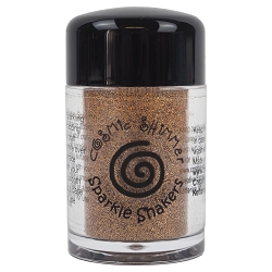 Creative Expressions - Cosmic Sparkle Shakers - Gold Flame