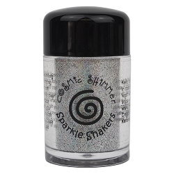 Creative Expressions - Cosmic Sparkle Shakers - Silver Rainbow