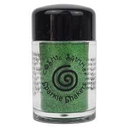Creative Expressions - Cosmic Sparkle Shakers - Emerald Green