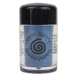 Creative Expressions - Cosmic Sparkle Shakers - Ultramarine Blue