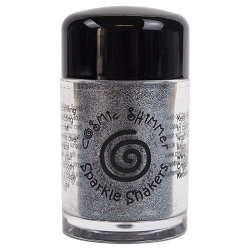 Creative Expressions - Cosmic Sparkle Shakers - Steel Sparkle